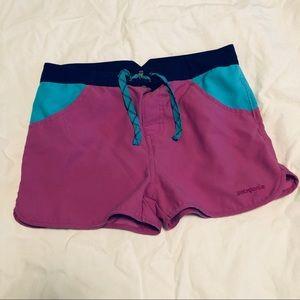 Patagonia Girls' Forries Shorey Board Shorts swim